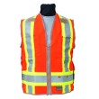 Seco 8266 Series Class 2 and Canadian CSA-Z96 Safety Vest