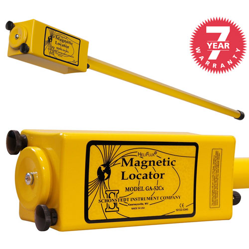 Schonstedt Magnetic Locator with Hard Case GA-52Cx