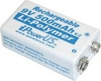 Schonstedt 9-Volt Rechargeable Lithium Battery B11015
