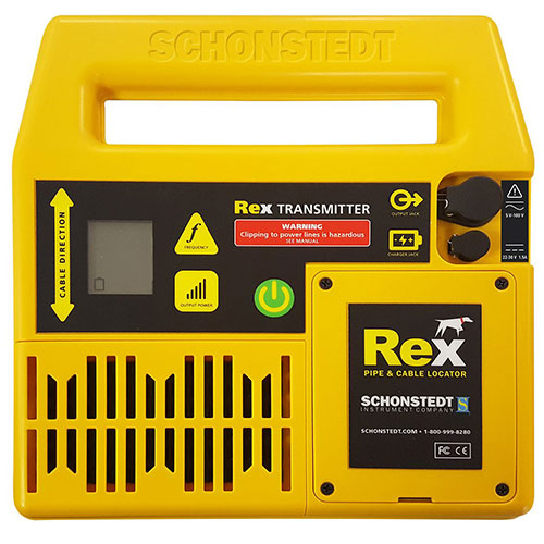 Schonstedt REX - Multi-Frequency Pipe & Cable Locator ES8630