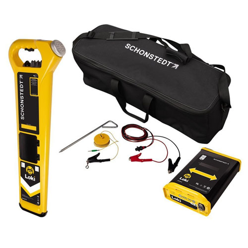 Schonstedt Loki Contractor Multi-Frequency Pipe and Cable Locator - LOKI-C