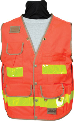 Seco 8067 Series Heavy-Duty Safety Vest