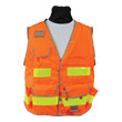 Seco 8069 Series Class 2 Safety Vest with Mesh Back