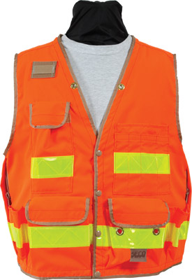 Seco 8068 Series Class 2 Lightweight Safety Vest