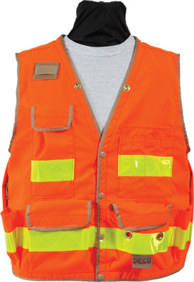 Seco 8063 Series Class 2 Safety Vest with Outlast Liner