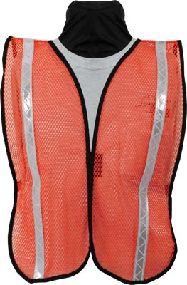 Seco 8076 Series Economy Mesh Safety Vest with Reflective Tape