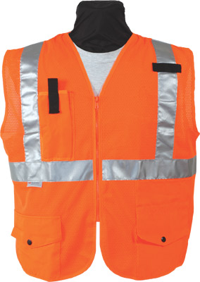 Seco 8290 Series Class 2 Mesh Safety Vest