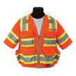 Seco 8365 Series Class 3 Safety Vest with Outlast Collar and Mesh Back (2 Colors Available) ES2605