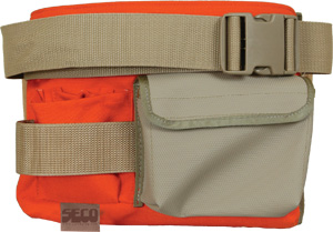 Seco Surveyor's Tool Pouch with Belt 8046-30-ORG
