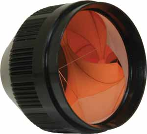 Seco 62 mm Copper-Coated Flexible Prism with Aluminum Stud 6411-02-BLK