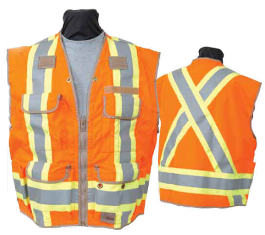 Seco 8260 Series Class 2 And Canadian Csa Z96 Safety Vest