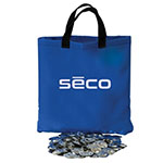 Seco 10 lbs of Raised Shiners with Carry Bag - 2182-10 ES4655
