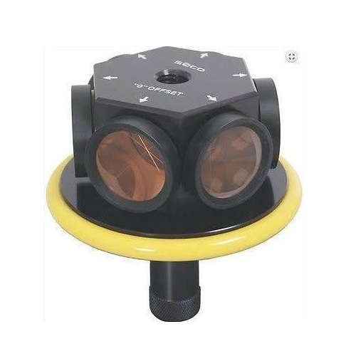 Seco 6401-00-YEL - 360 Degree Robotic 77mm Prism Assembly - Yellow ES7768