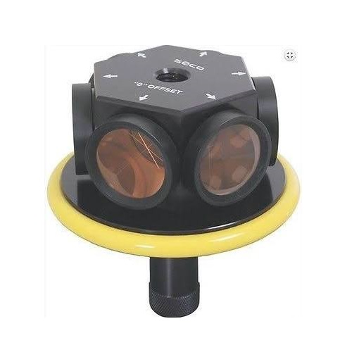 Seco 6401-03-YEL - 360 Degree Robotic 135mm Prism Assembly - Yellow ES7769