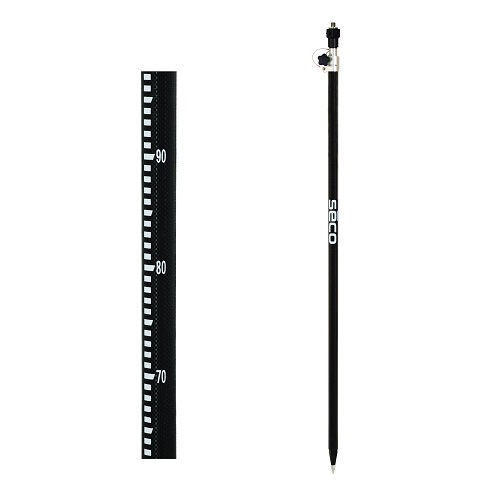 Seco 5129-53-QR-GM - Quick-Release Single Section Metric Robotics Pole - with Outer (GM) Metric Graduations ES7773