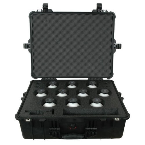 Seco 6703-11 - 10-Piece Scanner Sphere and Magnet Kit in Hard Case ES7781