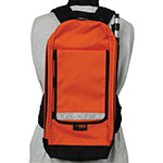 Seco Large GIS Backpack with Cam-Lock Antenna Pole - 8125-11-ORG ES9856