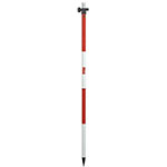 Seco 2.20 m Aluminum TLV Pole - Red and White - 5527-10 ES9934