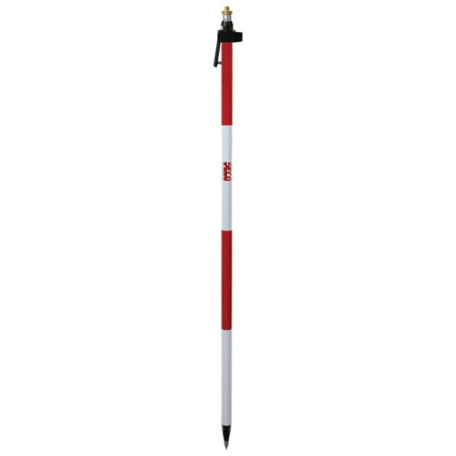 Seco 2.6 m Quick-Release Telescopic Prism Pole - Adjustable Tip - 5720-10