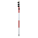 Seco 15 ft Construction Series Twist-Lock Style Prism Pole - 5530-30 ES9974