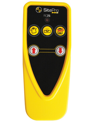 SitePro SLR200H Remote Control Rotary Laser - 27-RC25