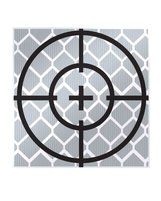 SitePro - Reflective Target - 10 Pack (5 Sizes Available) ES7054