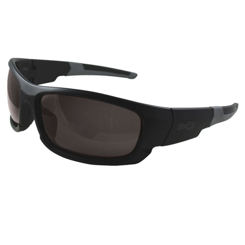 SitePro Canon Black Safety Glasses - Comfort 3-Point Fit (2 Models Available)