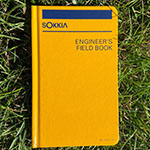 Sokkia Engineers Field Book - 8152-30 ES1252