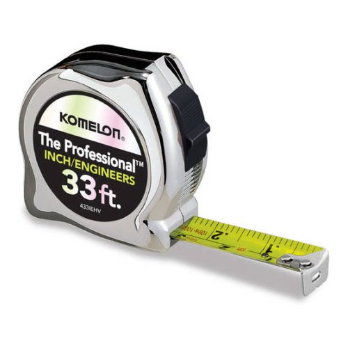 Hammerhead 433IE 33 Engineers Measuring Tape 870433