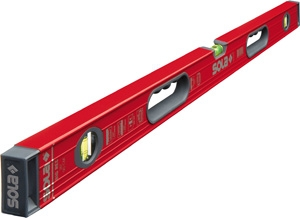 "Sola Big Red 48"" Aluminum Box Level with Handles BR48"