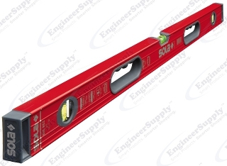 "Sola Magnetic BIG RED 24"" High Profile Aluminum Box Level w/Handles - BRM24 ES2884"