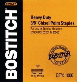 "Replacement Staples 1/4"" (1000 Box) Model SB35-1/4 ES2993 SB35-3/8"