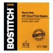 "Stanley Bostitch Heavy-Duty 3/8"" Staples (Box of 1000 Staples) SB35-3/8 ES2994"