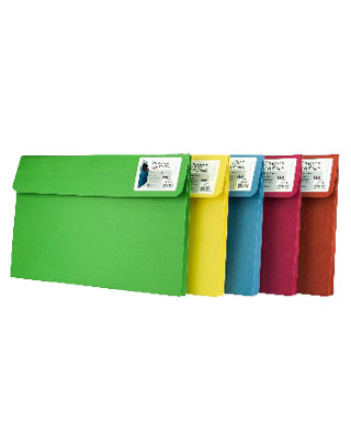 Star Products ST809-Asst-5 - Student Art Portfolio - Assorted Colors ES6821