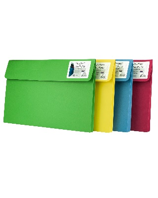 Star Products ST812-Asst-5 - Student Art Portfolio - Assorted Colors ES6822