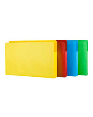 Star Products 1526 - 9 1/2 x 14 3/4 x 3 1/2 Project Folders - 5 Pack (5 Colors Available)