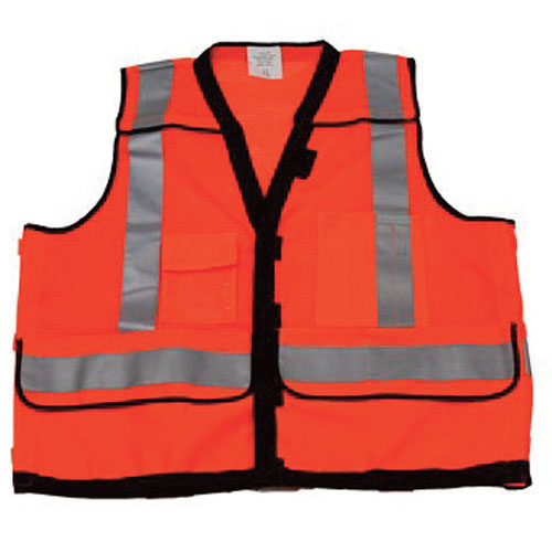Stop-Lite High Visibility Safety Vest - Orange - Large