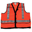 Stop-Lite High Visibility Safety Vest - Orange - Large - Vest-4-L-C2 ES9351