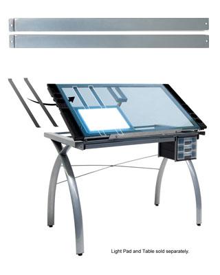Studio Designs 10049 Light Pad Support Bars Silver