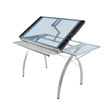 Studio Designs 10095 - Futura Craft Station with Folding Shelf (Silver - Blue) ES6267