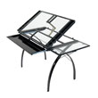 Studio Designs 10097 - Futura Craft Station with Folding Shelf (Black - Clear) ES6269