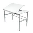 Studio Designs 10210 - Graphix Workstation 30 x 42 - White ES6271