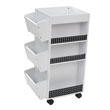 Studio Designs 10220 - Swivel Organizer (White - Black) ES6273
