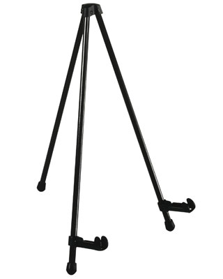Studio Designs 12103 - E-Z Tabletop Easel - Black - 1pc inner- 12pc master