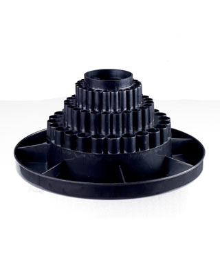Studio Designs 12164 - Table Top Carousel - Black - 1pc inner - 8pc master
