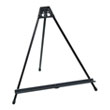 Studio Designs 13160 - Light Weight Folding Easel - Black ES6310