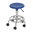 Studio Designs 13176 - Studio Stool (Blue - Chrome) ES6314