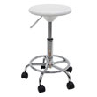 Studio Designs 13178 - Studio Stool (White - Chrome) ES6316