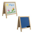 Studio Designs 13211 - Kids Fold-A-Way Easel - Natural ES6327