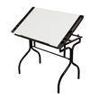 Studio Designs 13221 - Folding Craft Station (Black - White) ES6332